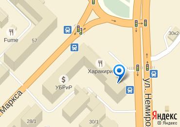 Карта проезда к FactorX
