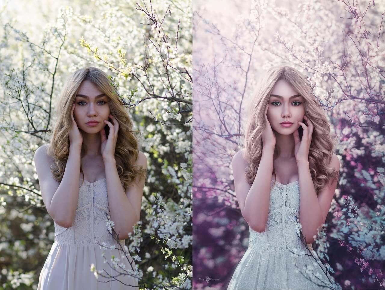 как сделать красивую картинку с фото видео трогательной